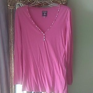 VS PINK studded top